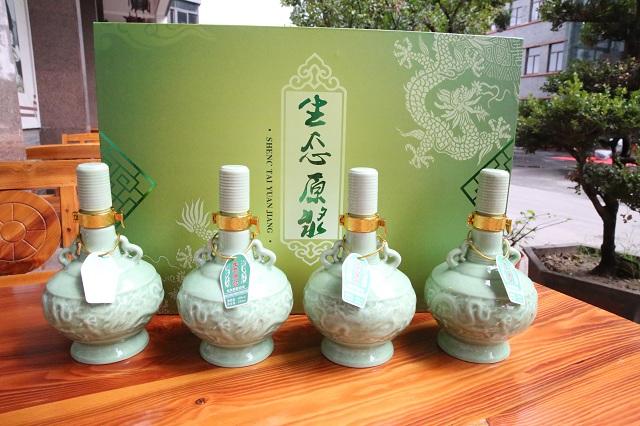 私人定制酒65度芝麻香型生态原浆成功上线!