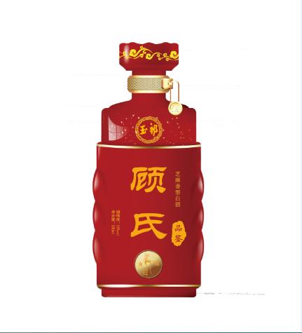 企业定制酒顾氏宗亲招待酒礼品酒