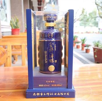 蓝玉樽500ml玉祁酒坊