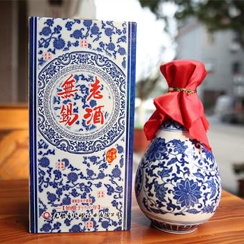 青花瓷500ml无锡老酒